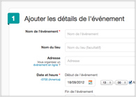 Une page professionnelle et personnalisable